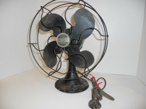 Antique Fan Restoration Kit Vintage Rewire Ge Emerson
