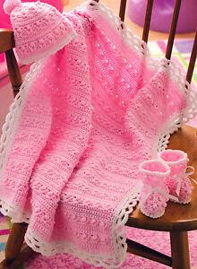 free crochet baby blanket pattern in Kiddo Yarn Log Cabin