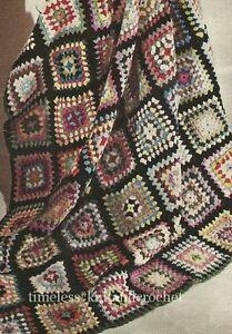 Easy Granny Square Crochet Pattern - Online Crochet