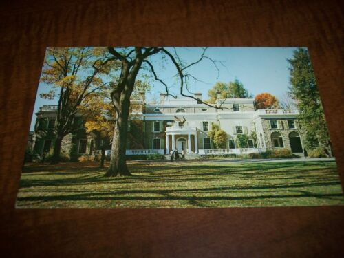 VINTAGE - POST CARD - HOME OF FDR HYDE PARK, NY - 1956 in Collectibles, Postcards, Other | eBay