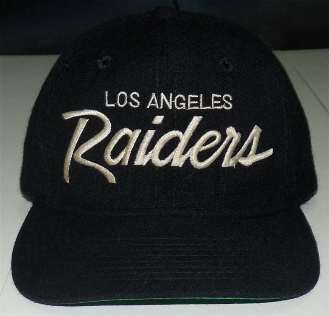 f173eda6494 VINTAGE SPORTS SPECIALTIES LOS ANGELES RAIDERS WOOL YOUTH SCRIPT on ...