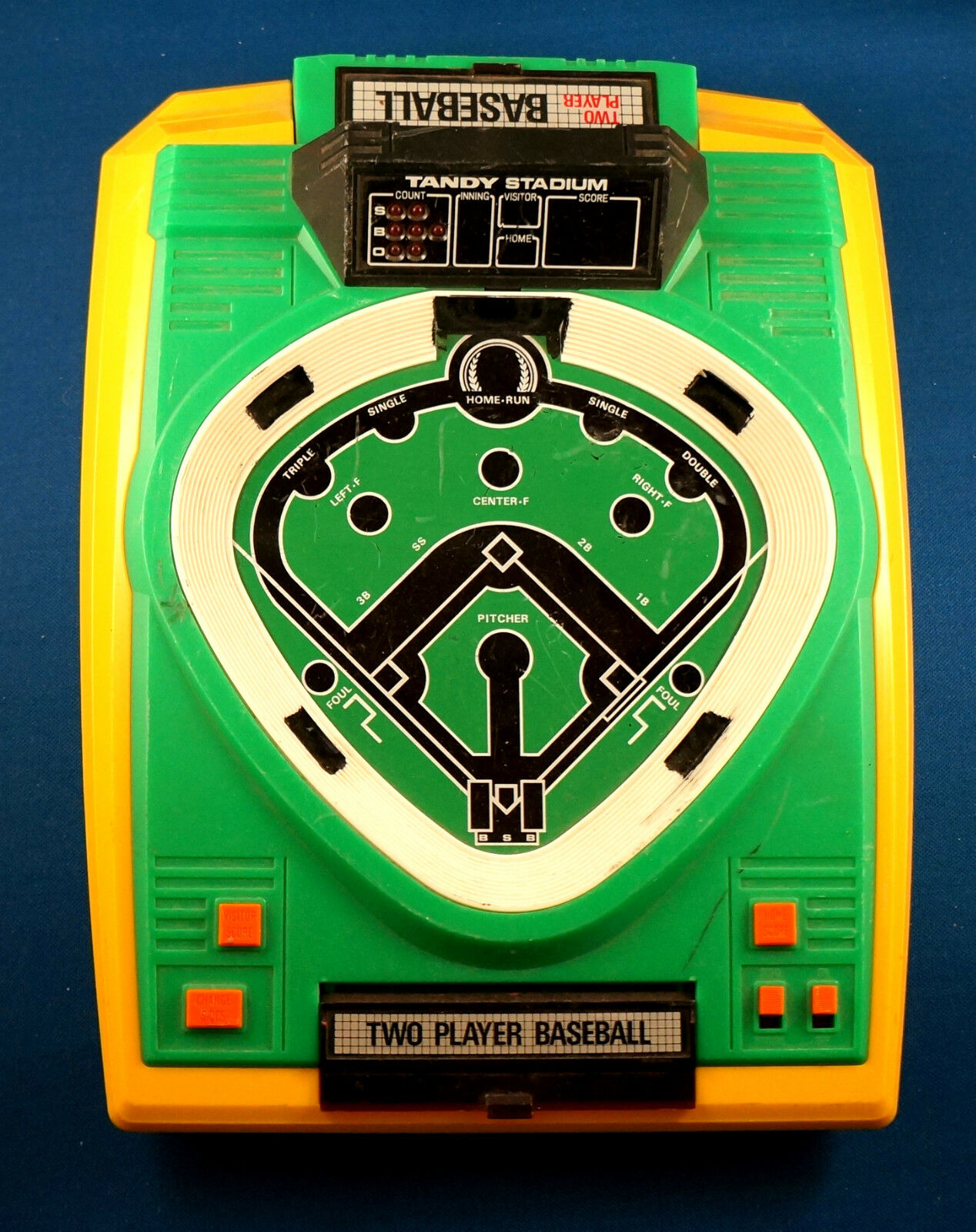 Radio Shack Toys For Boys : Vintage tandy baseball electronic handheld game arcade