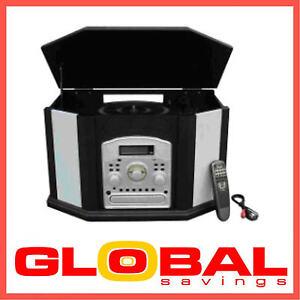Vinyl Lp Record Player Turntable Cd Cassette Burner