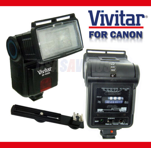 VIVITAR Slave Flash for Canon Digital Rebel XT XTi XS XSi T1i T2i T3i T3 T3i in Cameras & Photo, Flashes & Flash Accessories, Flashes | eBay