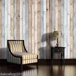 vlies fototapete fototapeten tapete poster tapeten foto holz brett wand 1036 ve ebay. Black Bedroom Furniture Sets. Home Design Ideas