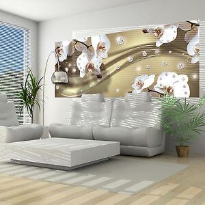 vlies fototapete tapete poster bild tapeten orchidee. Black Bedroom Furniture Sets. Home Design Ideas