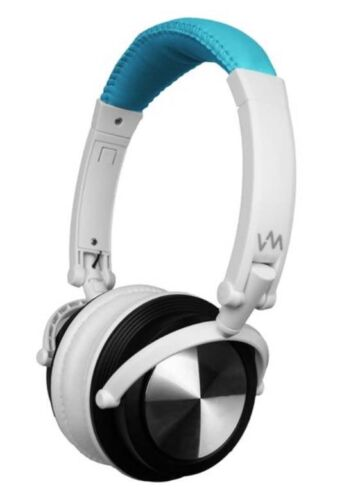 VM Audio SRHP3 Stereo MP3/iPhone iPod Over Head On Ear DJ Headphones Blue/White in Consumer Electronics, Portable Audio & Headphones, Headphones | eBay