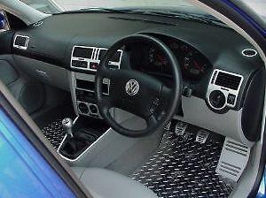 volkswagen golf mk 4 mk4 interior dash trim kit set 99. Black Bedroom Furniture Sets. Home Design Ideas