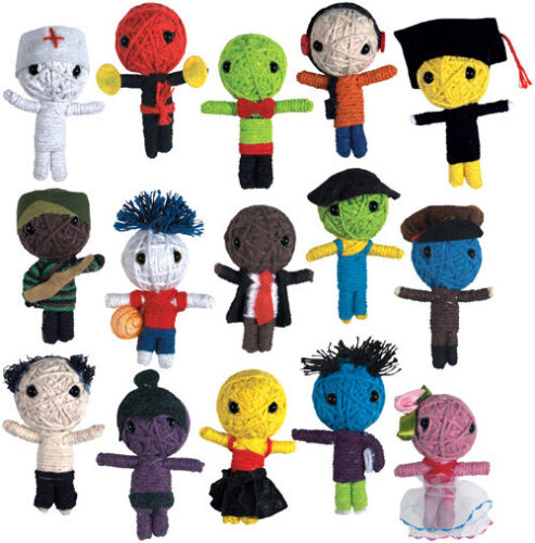 VOODOO STRING DOLLS CAREER VOO DOO * 15 PCS * COMPLETE COLLECTION SET LOT BULK in Dolls & Bears, Dolls, By Type | eBay