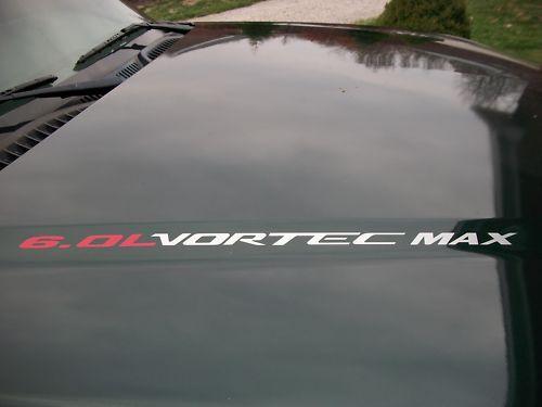 VORTEC MAX 6.0L Chevy Silverado GMC Sierra HD SS Decal