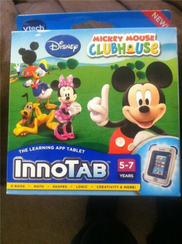 VTECH INNOTAB 2 2S MICKEY MOUSE CLUBHOUSE DISNEY LEARNING TABLET GAME SOFTWARE!! in Toys & Hobbies, Educational, Learning Systems | eBay