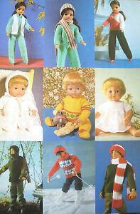 ABC Knitting Patterns - Knit >> Doll Clothes.