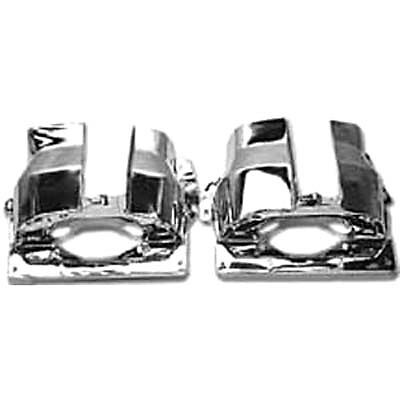 VW Air Cooled Engine Chrome Dual Port Cylinder Tins PR