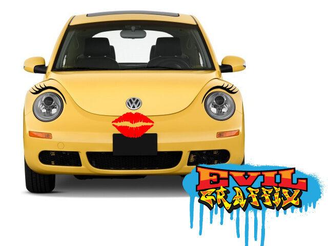 VW Beetle Eyelashes, Eyelashes for Beetle, Punch buggy ...