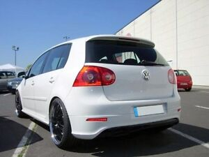 vw golf v 5 r32 gti gt tdi heckansatz hecksch rze r line. Black Bedroom Furniture Sets. Home Design Ideas