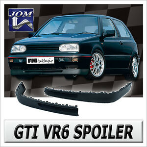 vr6 spoiler spoilerlippe breite lippe frontspoiler vw golf. Black Bedroom Furniture Sets. Home Design Ideas