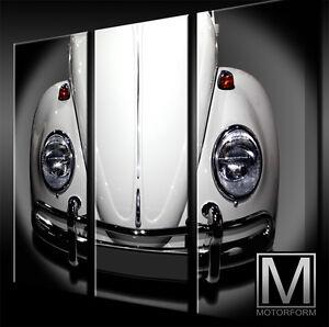 ... 1300 Beetle LEINWAND - 3 Keilrahmen Bild Auto Poster Lounge Canvas Art