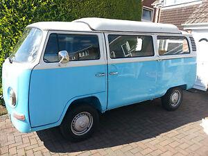 Vw t2 danbury bay window camper van 1972 rhd tax free ebay for 16 window vw van