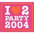 Various Artists - I Love 2 Party 2004 (2003)