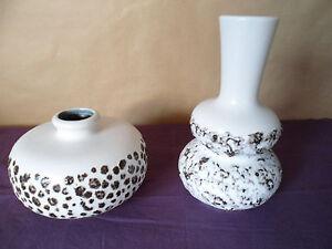 Vase-70er-Jahre-2-Stueck-Keramik