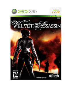 Velvet Assassin  (Xbox 360, 2009)