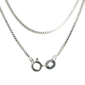 Venezianer-Kette-Halskette-Silberkette-0-9-mm-925-Sterling-Silber-massiv-Venezia