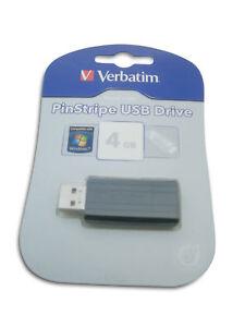 Verbatim-PinStripe-USB-4GB-Mini-Stick-NEUware-OVP