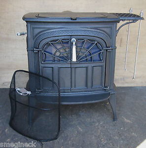 Details about Vermont Castings Intrepid Non Cat Wood Stove PU or Ship