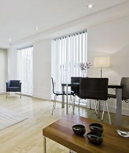 vertikal lamellen jalousie vorhang lamellenvorhang fenster t ren fl chenvorhang ebay. Black Bedroom Furniture Sets. Home Design Ideas