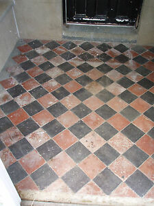 Victorian 6 Quot Terracotta Tile Price Per Tile Approx 2 Square Meters 125 Tiles Ebay