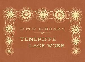 Antique Victorian Teneriffe Lace Patterns CD Sol Laces! for sale