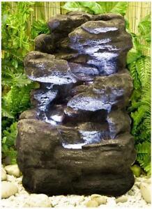 gartenbrunnen g nstig online kaufen bei ebay. Black Bedroom Furniture Sets. Home Design Ideas