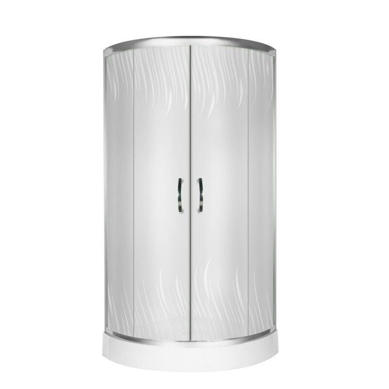 viertelkreis dusche echtglas duschabtrennung duschkabine runddusche duschwanne l ebay. Black Bedroom Furniture Sets. Home Design Ideas