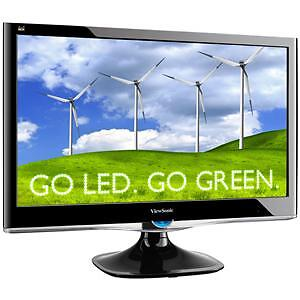 "ViewSonic VX VX2450WM 24"" Widescreen LED..."