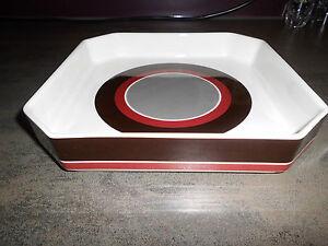Villeroy-Boch-avantgarde-1-viereckige-Schale-70er-Jahre-Design