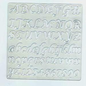 vintage 1982 burger king letters fancy script numbers stencil ebay