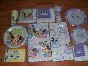 hallmark disney babies baby mickey amp minnie baby shower goods ebay