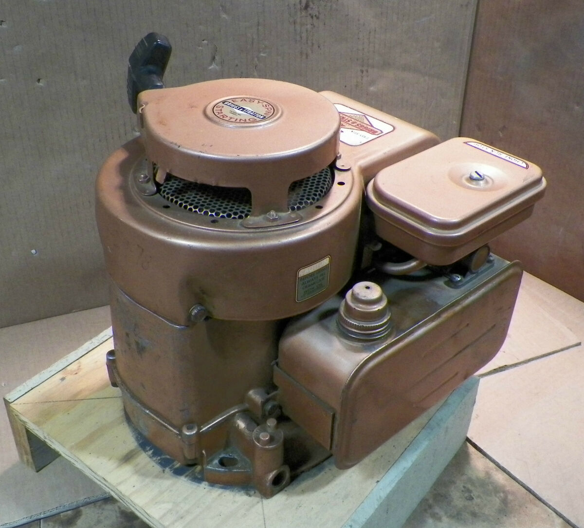 briggs and stratton 2 hp engine manual