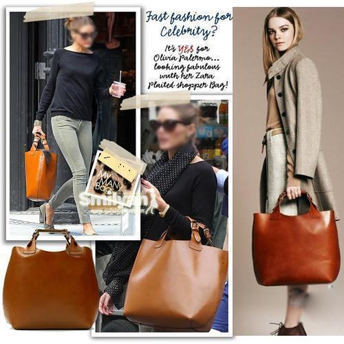 Vintage Celebrity Tote Shopping Bag HandBags Adjustable Handle Brand ZW007