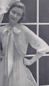 CROCHET BED JACKET PATTERNS | Crochet Patterns
