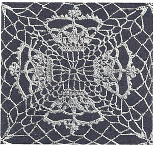 Crochet Tablecloth Pattern on Pinterest