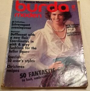 Vintage-December-1985-French-Burda-Moden-Fashion-Magazine-Sewing-Uncut-Pattern
