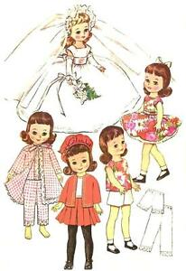 Betsy McCall Bridal Set - Emailed Vintage Patterns