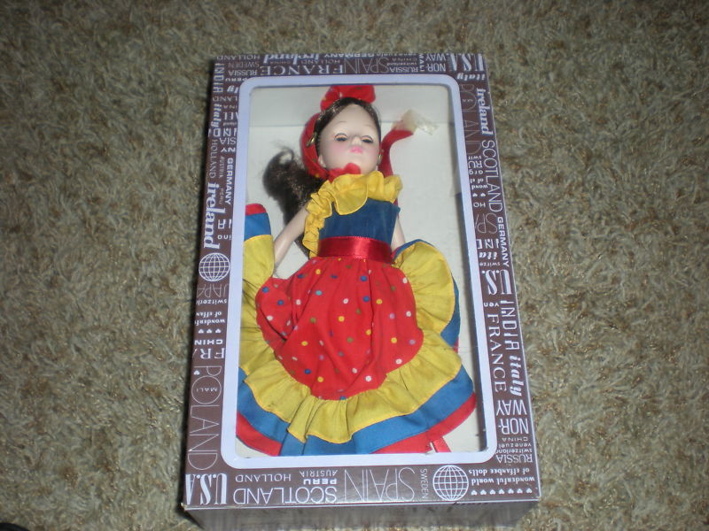 Vintage Effanbee Doll Collectible Dolls Brazil Country