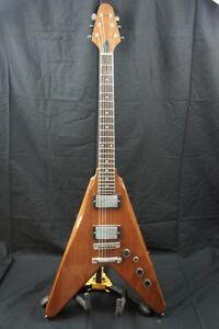 Flying W Guitar : vintage harmony flying v electric guitar w hsc hard shell case ebay ~ Hamham.info Haus und Dekorationen
