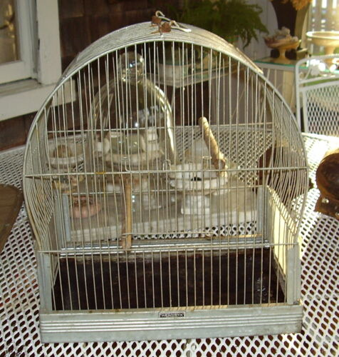 Vintage Hendryx Steel Bird Cage in Pet Supplies, Bird Supplies, Cages | eBay