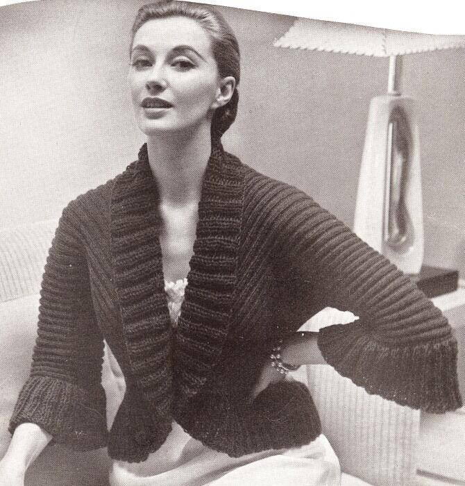 Bedjackets Vintage Patterns PDF Download - KarensVariety.com