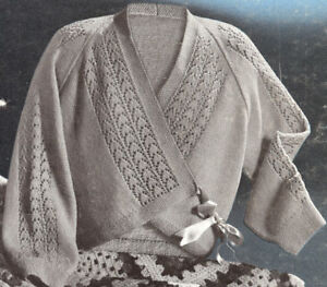 Crochet Wrap Sweater Pattern - Online Crochet Instruction