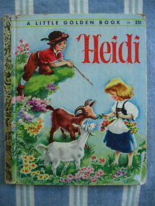VINTAGE LITTLE GOLDEN BOOK -