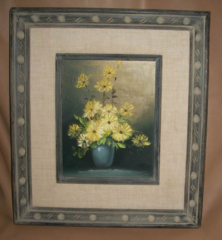 shopgoodwill.com - #5847779 - Robert Cox Signed Oil Painting on